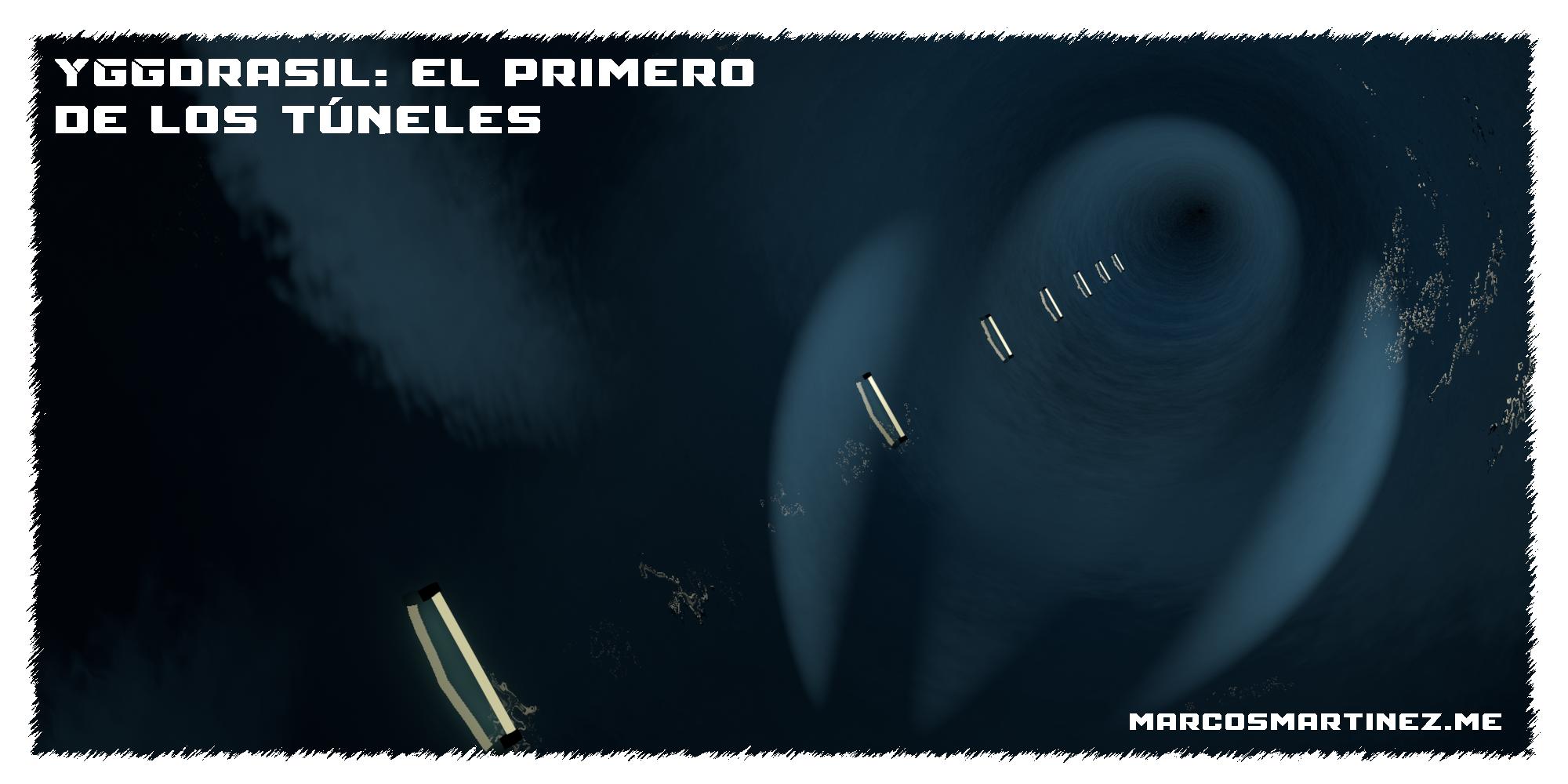 Cartel «Yggdrasil el primero de los túneles»