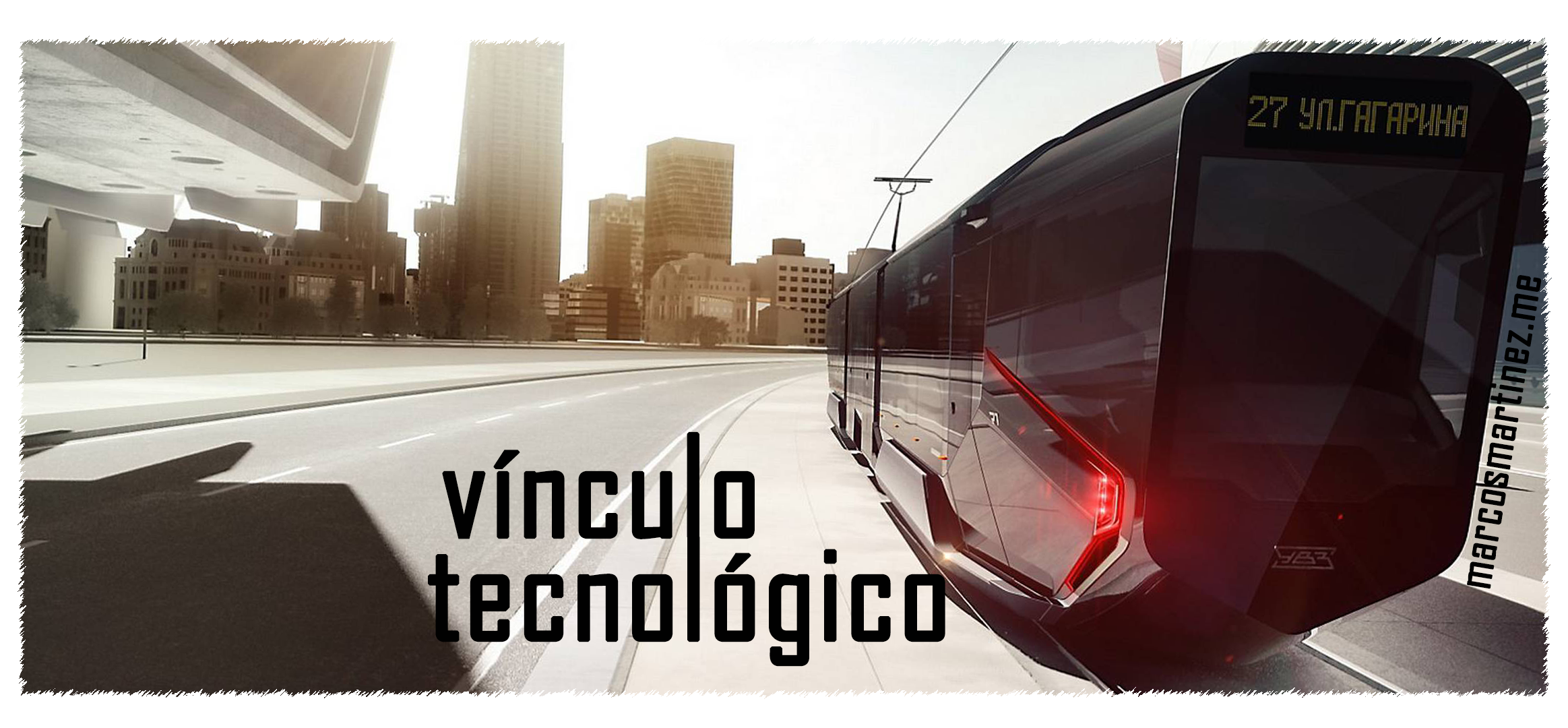 Cartel «Vínculo tecnológico»