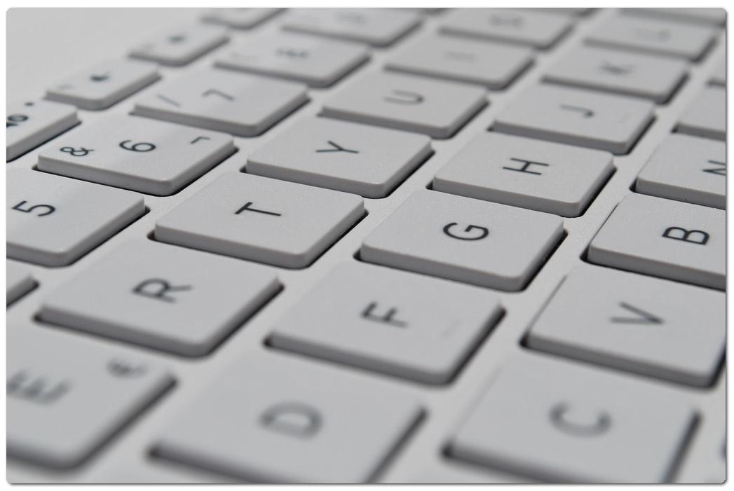 teclado tarifas economicas redaccion de contenido