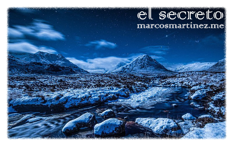 cartel «el secreto»