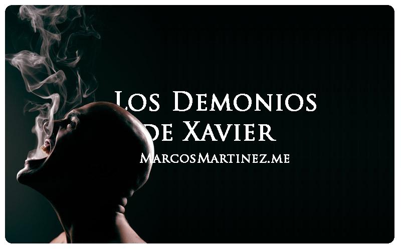 Cartel «Los demonios de Xavier»