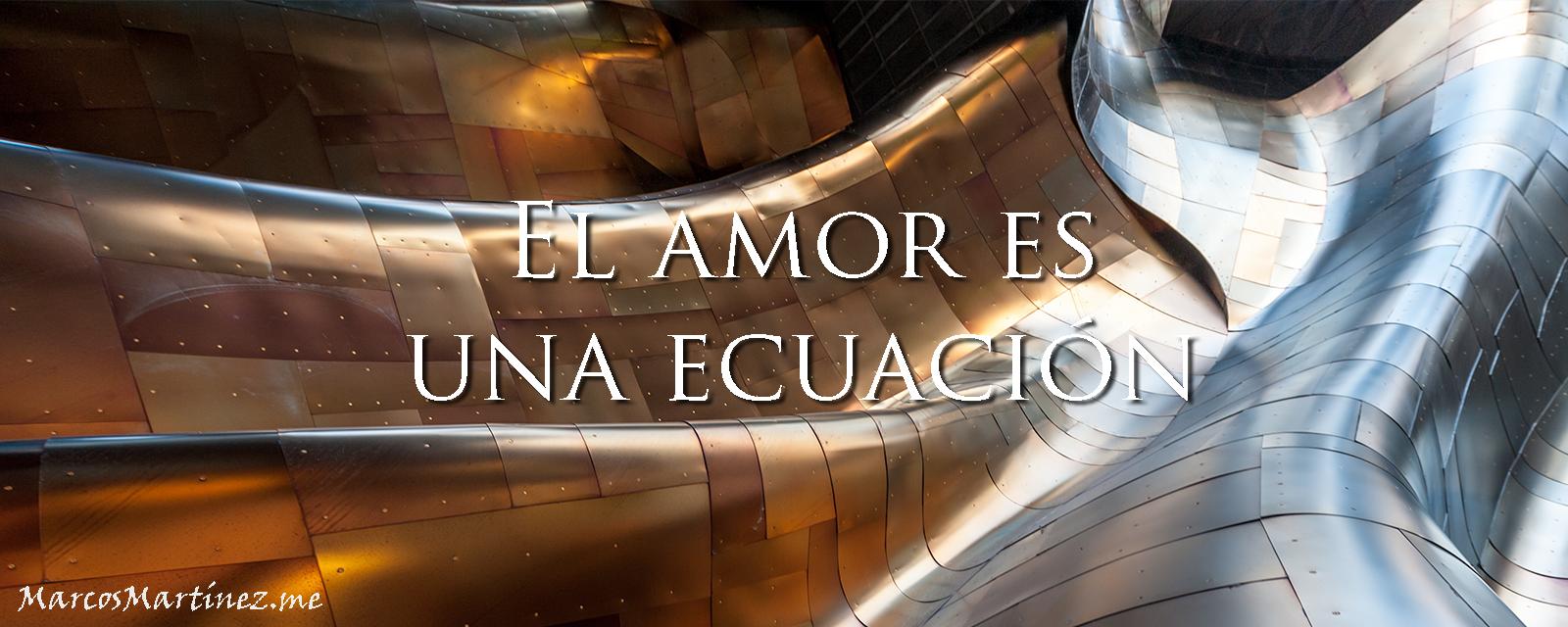 El amor es una ecuación